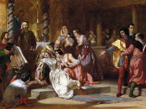 Hamlet sætter scenen